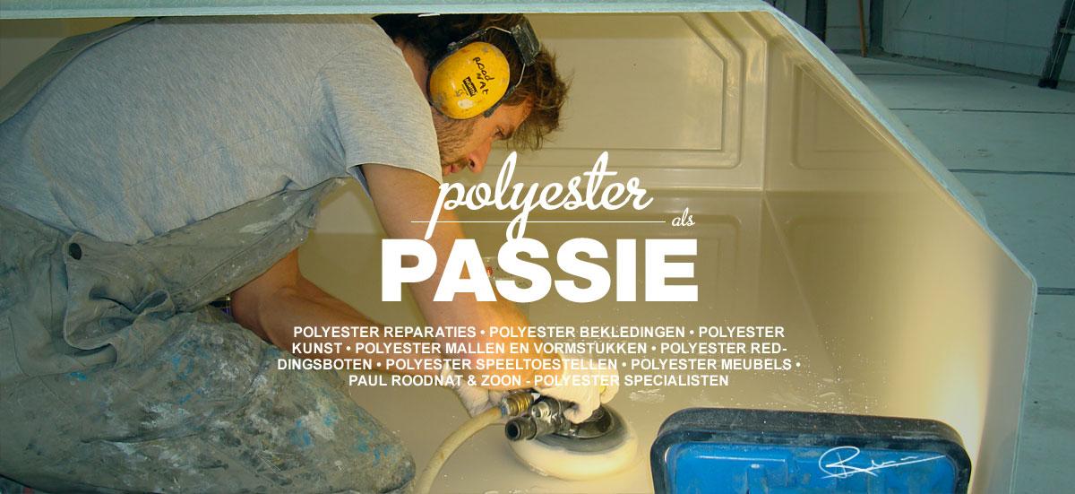 polyester-reparatie